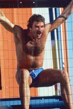 Tom Selleck in swim shorts barechested 18x24 Poster - $23.99