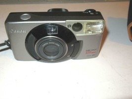 VINTAGE CAMERA - CANON SURESHOT 105 ZOOM W/CASE- EXC- G9 - $19.55