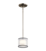 Kichler 43152AP Tallie Mini Pendants 6in Antique Pewter Steel 1-light - $149.99