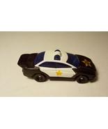 Hot Wheels Police Car WT 30 Black White Mattel 1993 - $3.99