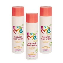 Just for Me Natural Hair Milk Curl Smoother 3 Pack - Defines Curls & Controls Fr