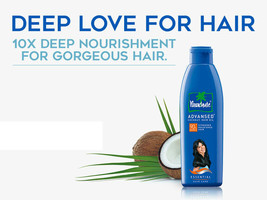 Parachute Advansed Coconut Hair Oil Deep for Strong Nourishes Treatment ... - $4.21+