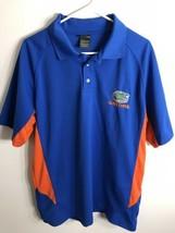 Pro Edge Ncaa Florida Gators Men's Golf Polo Shirt Short Sleeve Blue Siz... - $14.80