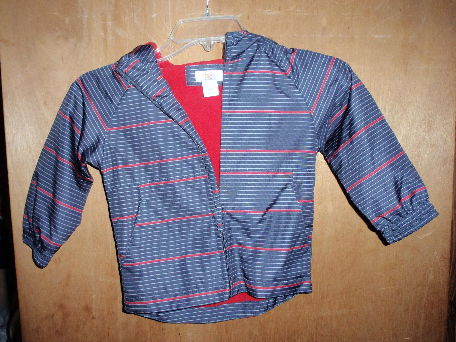 OshKosh Boy/'s /' Reversible Full Zip Fleece Jacket NAVY  Boy/'s Sz 2T-4T NWT