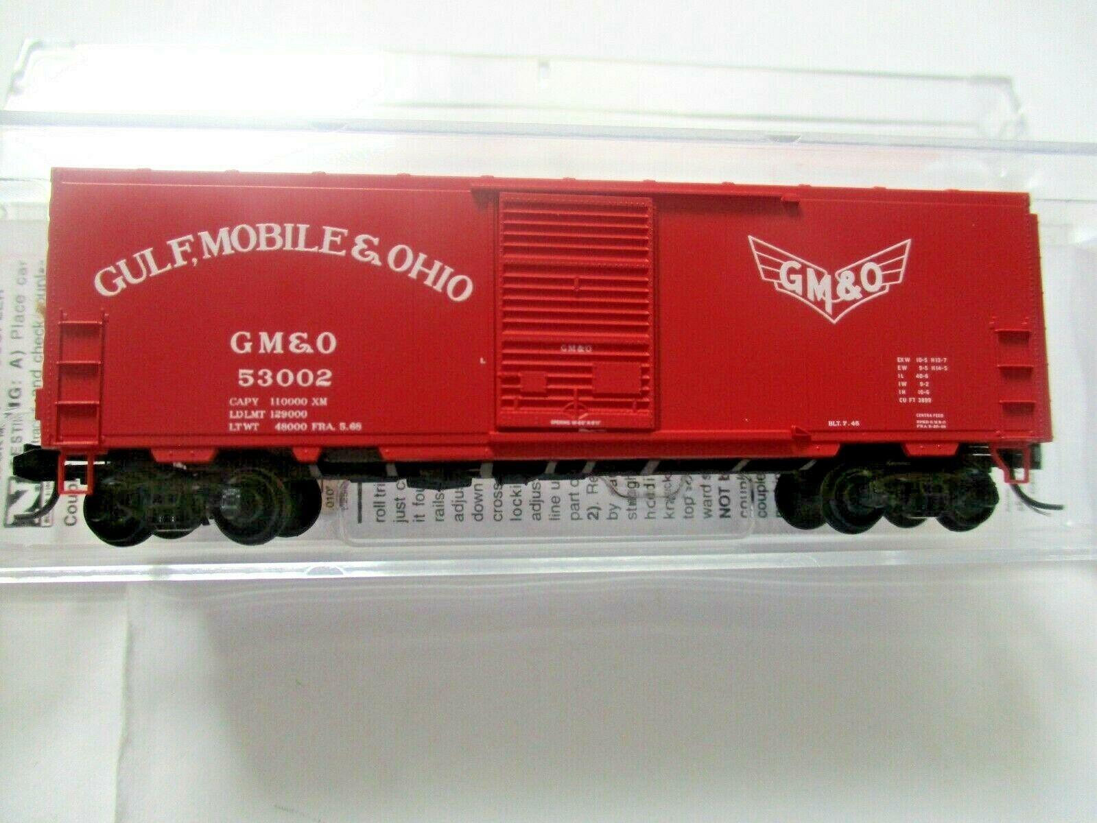 Micro-Trains # 07300540 Gulf, Mobile & Ohio 40' Standard Boxcar N-Scale