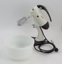 1950s Sunbeam Mixmaster Stand Mixer & Fire King... - $102.42
