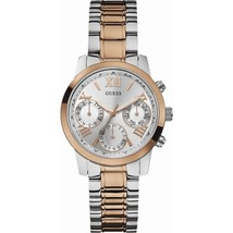 GUESS W0448L4 Two Tone Stainless Steel Mineral Women's Watch - $394.55
