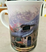 """Thomas Kinkade Mug """"Lilac Cottage"""" 4 1/8"""" Tall and 8 Oz.Capacity - $9.50"""