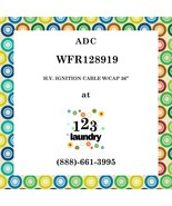 "ADC-WFR128919-H.V. IGNITION CABLE W/CAP 36"" - $7.04"