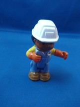 Fisher Price Little People Bendable Construction Worker - $2.85
