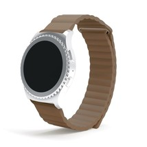 Samsung Gear S2 Classic SM-R732/R7320 Watch Band, AWStech Leather Loop W... - $22.09