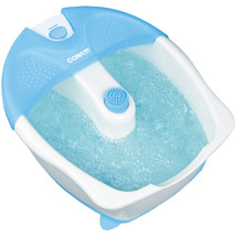 Conair Foot Bath With Heat, Bubbles & Attachment