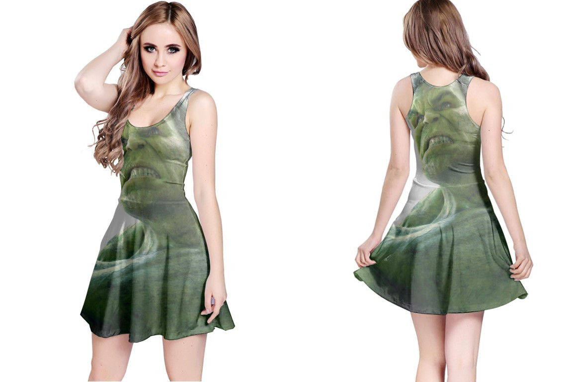 Primary image for Reversible Dress hulk the avanger