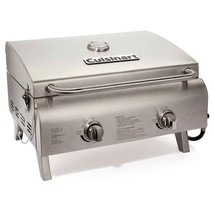 Cuisinart Professional Portable Two Burner Gas Grill - £149.07 GBP