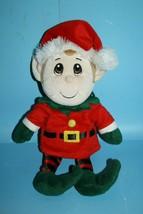 "Fiesta Plush Christmas Santas Secret Elf Boy 13"" Soft Toy Stuffed Stocki... - $15.45"