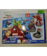 NEW Xbox 360 Disney Infinity Marvel Super Heroes 2.0 Edition Starter Pac... - $39.99