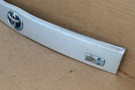 2010-15 XW30 Prius Trunk Lift Gate Handle Garnish Trim Panel Tag Light Cover image 5