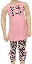 Infant Girls 2 Piece Leopard Legging Set  - $32.00