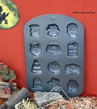 WILTON HALLOWEEN COOKIE PAN – GIVE YOUR LITTLE GHOULS A DOZEN DIFFERENT ... - $19.95