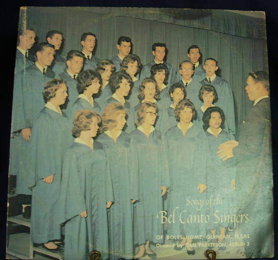 Songs of the BEL CANTO SINGERS - Album Three - Unknown label