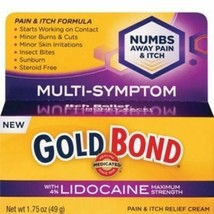 new Gold Bond Pain & Itch Cream with Lidocaine 4% MULTI-SYMPTOM - $9.73