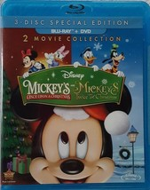 Disney Mickey's Once Upon A Christmas / Twice Upon Christmas [Blu-ray + DVD]