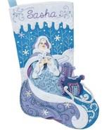 Bucilla Winter Magic Frozen Snow Princess Elsa Christmas Felt Stocking K... - $36.95