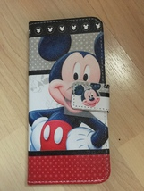 Disney Mickey Mouse PU Leather Case For Samsung Galaxy S8 Plus - $13.99