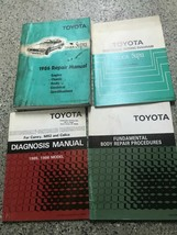 1986 TOYOTA CELICA SUPRA Service Repair Shop Workshop Manual OEM Set W E... - $98.94
