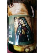 Blessed Mary American Heritage Woodland Royal Plush Raschel Throw blanket - $23.75