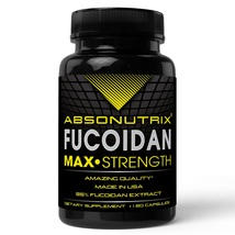 Absonutix Fucoidan Atlantic Brown Sea Weed Extract Antioxidant Immunity120 V cap - $33.99