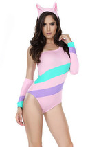 Sexy Forplay Pretty In Pink My Little Pony Bodysuit Costume 555117 - $36.99