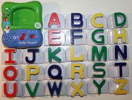 LeapFrog Fridge Phonics Magnetic Large Alphabet Full Complete Leap Frog Set - $29.44