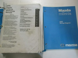2000 Mazda Millenia Service Repair Shop Manual SET Factory FEO BOOKS USED - $132.15