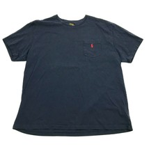 Polo Ralph Lauren Men's Pocket T Shirt Loose Fit Embroidered Red Pony Na... - $17.83