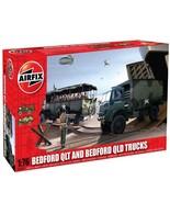 Airfix 1/76 Bedford QLT and QLD Trucks Plastic Model Kit - $14.00
