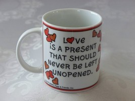 Ziggy Love Is A Present 12 Oz Coffee Mug VGC - $8.00