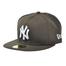 New Era New York Yankees MLB Basic 59FIFTY Cap Walnut Fitted Hats - £30.47 GBP