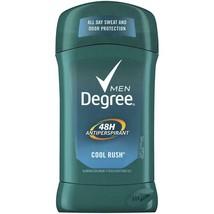2 Packs Degree Men Invisible Solid Cool Rush Deoderant & Antipersperant - 2.7 oz - $25.00