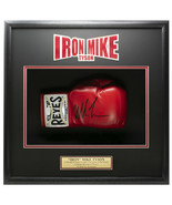 Mike Tyson Signed Red Cleto Reyes Boxing Glove Shadowbox JSA ITP - $484.99