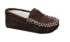 Suede Trumfit Baby Moccasin Newborn Infant Crib Shoe (3-6 Months, Brown) - $25.00