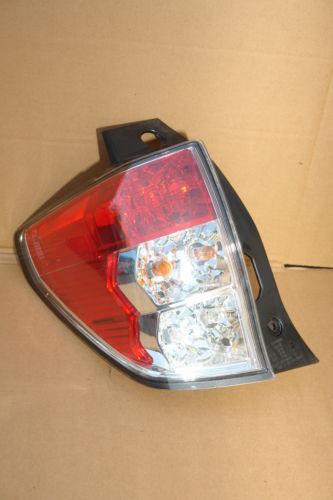 09-13 Subaru Forester Taillight Brake Light Lamp Left Driver Side LH