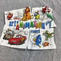 Walt Disney T Shirt Men's Large Short Sleeve Gray Animation Graphic Tee - $18.95