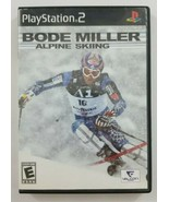 Bode Miller Alpine Skiing PS2 Game 2006 Valcon Games Playstation 2 - $4.99