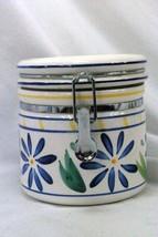 Certified International Corp Blue Flowers Tea Canister - $7.61