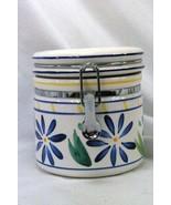 Certified International Corp Blue Flowers Tea Canister - $6.92