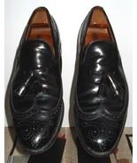 "Men's Allen Edmonds ""Berwick"" Classic Black Leather Tassel Loafer Size 9... - $37.12"