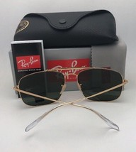New RAY-BAN Sunglasses THE COLONEL RB 3560 001/3F 61-17 Gold Aviator w/B... - $179.99