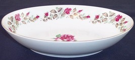 """Diamond China Moss Rose 10"""" Oval Vegetable Serving Bowl, Excellent Condi... - £12.80 GBP"""