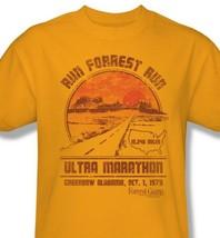 Forrest Gump T-shirt Run Forrest Marathon graphic printed cotton tee PAR483 image 1